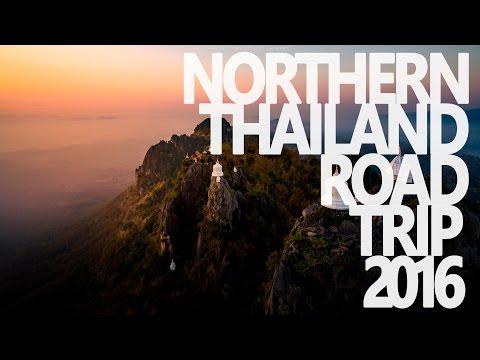 [4K] Northern Thailand Road Trip 2016