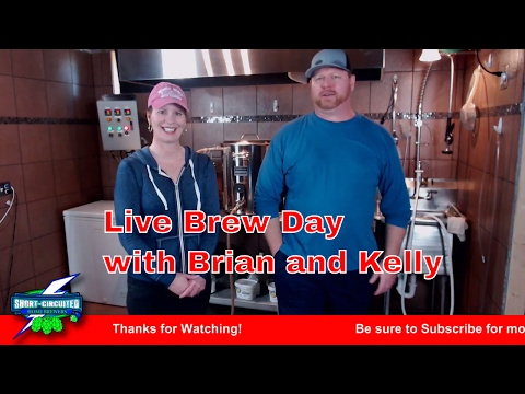 Live Brew Session with Brian and Kelly Brewing Flat Tire