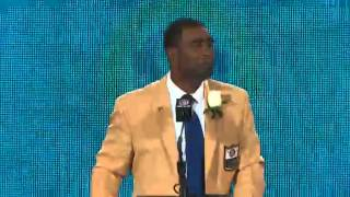 2013 Hall of Fame Inductee: Cris Carter Hall of Fame Enshrinement Speech
