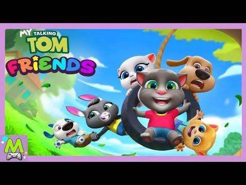 Мой Говорящий Том и Друзья.Последний Друг Найден.Вся Компания Вместе.Прохождение Игры