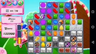 Candy Crush Saga Level 1444 Walkthrough