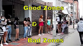 Good Zones & Bad Zones in Bogota Colombia 2020