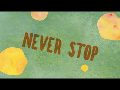 Over October - Never Stop (Official Lyric Video)
