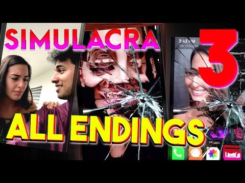 SIMULACRA - The Finale ( ALL ENDINGS / SECRET ENDING ) Manly Let's Play [ 3 ]
