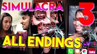 SIMULACRA - The Finale ( ALL ENDINGS / SECRET ENDING ) Manly Let