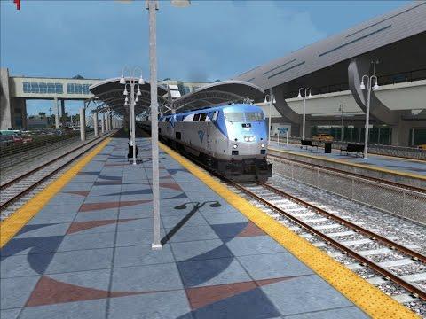 Amtrak P42 Career Drive on Miami West Palm Beach