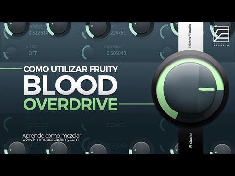 FRUITY BLOOD OVER DRIVE // PRE-AMP VIRTUAL