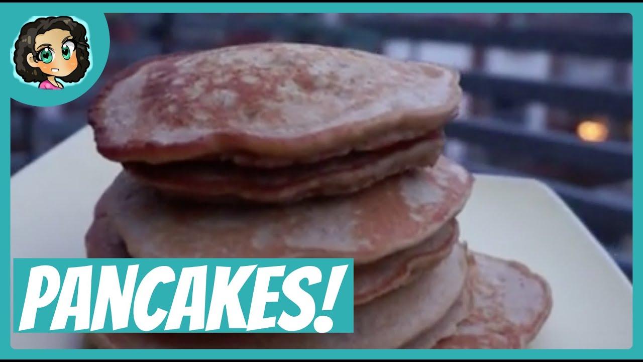rezepte zum abnehmen gesunde leckere pfannkuchen zum fr hst ck youtube. Black Bedroom Furniture Sets. Home Design Ideas