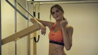 Izabel Goulart does pilates | Supermodel prep for Victoria