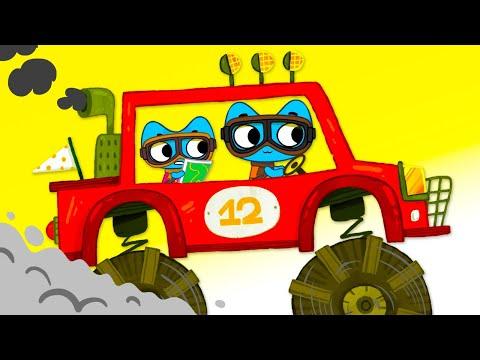 Котики, вперед! - Мультик про машинки - Настоящая победа -  Серия 39 / Мультики для детей