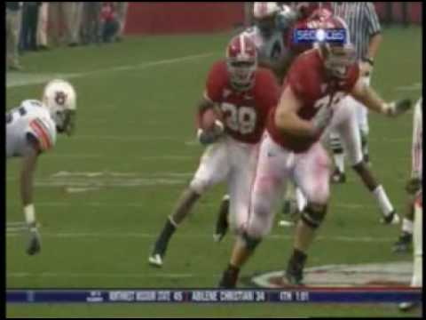 Glen Coffee Runs Over Auburn