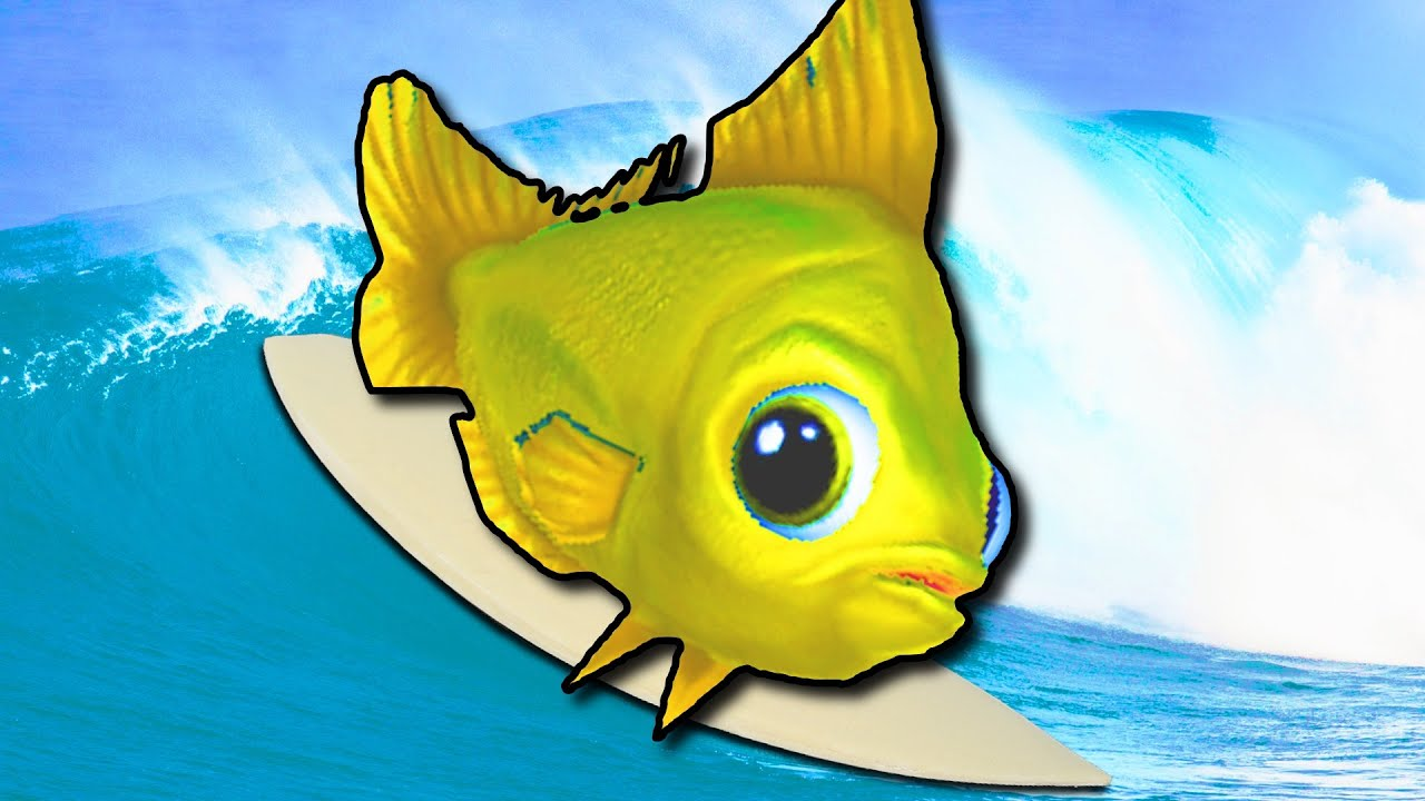 Fish surfing feed and grow fish online multiplayer best for Best fish surfboard