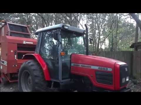 95 HP Massey Ferguson 4253 Diesel Cab Tractor -coming for sale in central TN