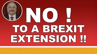 We must not extend Brexit!