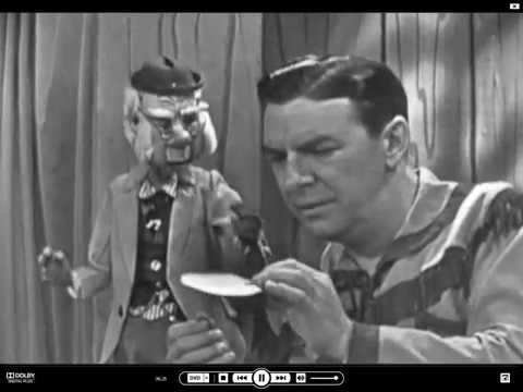 The Howdy Doody Show:  Mr.Bluster and Buffalo Bob wrangle