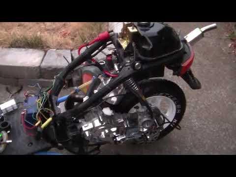 372- Operation Honda DIO= 120cc STROKER ENGINE.