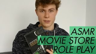 ASMR - Movie Store Role Play - Soft Spoken Male Voice for Relaxation and Sleep