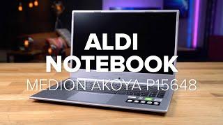 Medion Akoya P15648: Aldi-Notebook im Test | deutsch
