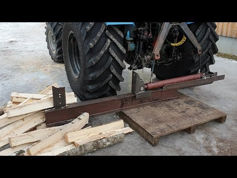 DIY Log Splitter Part 1