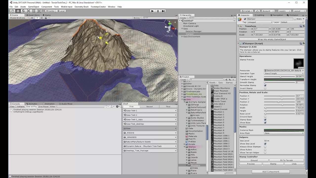 Gaia, Vegetation Studio etc  An overview of different environmental assets  for Unity