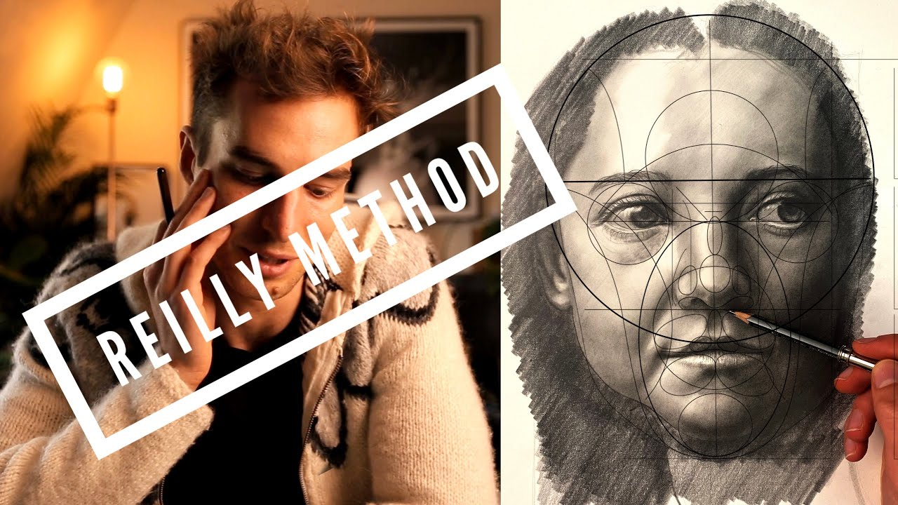 How to Draw Face Using Reilly Method