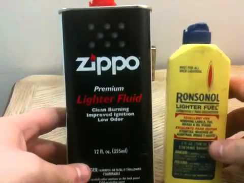 Zippo vs Ronsonol - YouTube