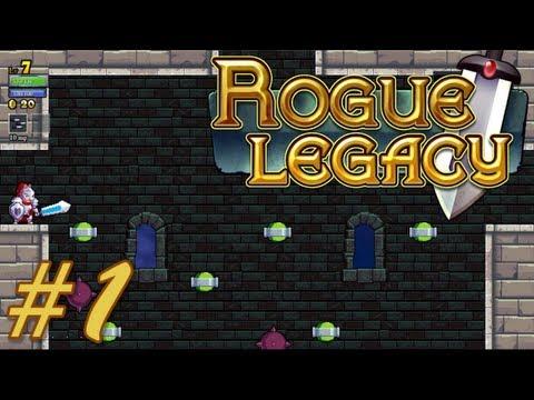 видео: Лололоша в Rogue Legacy #1 (Первые попытки!)