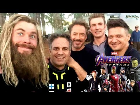 Avengers: Endgame Funniest Behind The Scenes And Photos | Marvel 2019