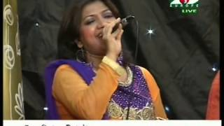 Kornofulir Sampanwala bangla song singing by UK popular singer Nazmoon Khan Tanni