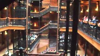 Calefax in the Bradbury Building, Los Angeles