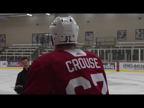9/22/17: Lawson Crouse on Preseason Debut at Flames