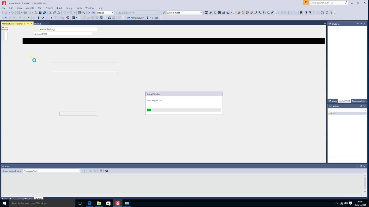 Atmel Studio Tutorial #1 Features, Functions, & How to Create/Set up a  Project