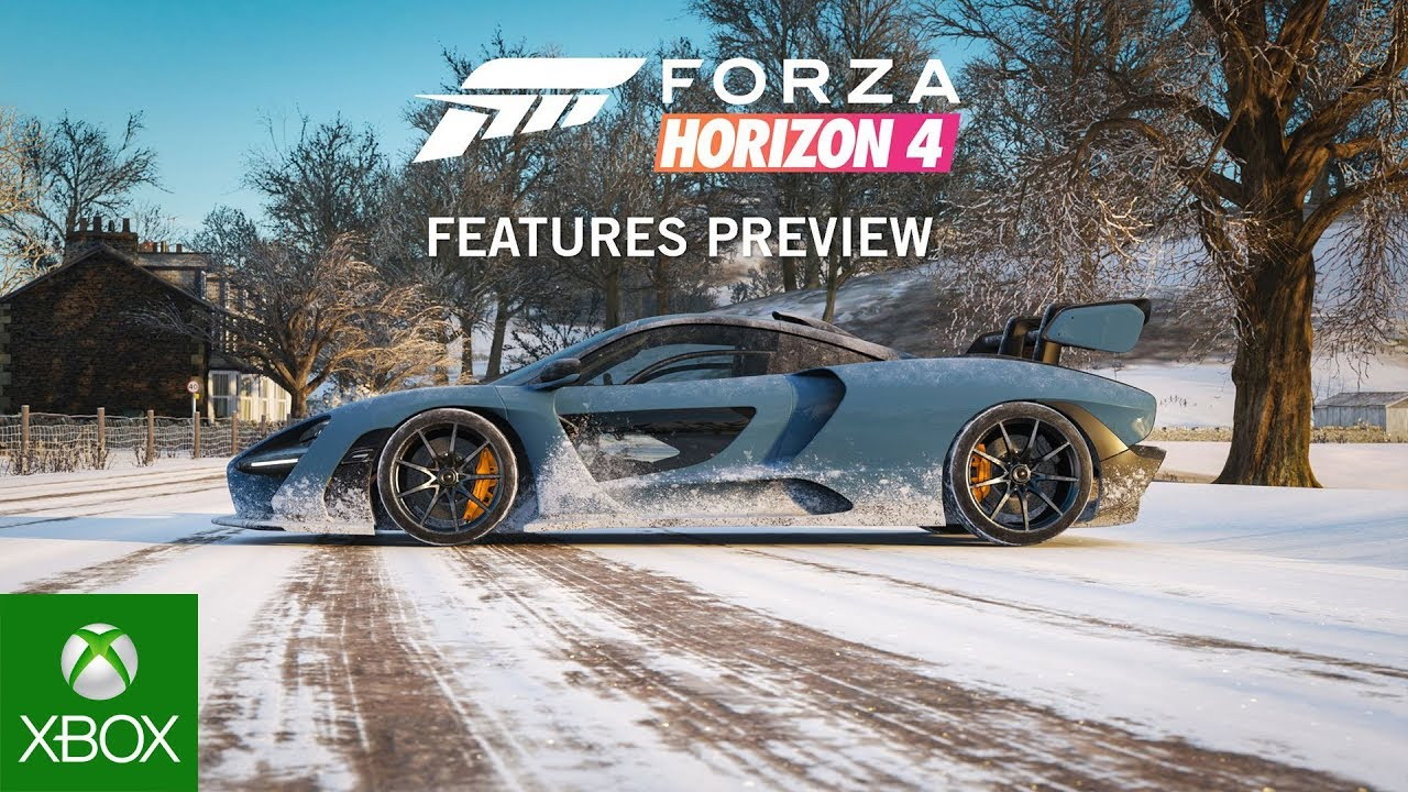 forza horizon 4 features preview youtube. Black Bedroom Furniture Sets. Home Design Ideas