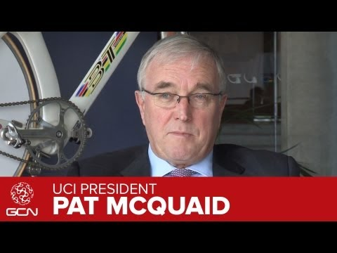 UCI President Pat McQuaid Interview Pt 5 - What is the future of the UCI?