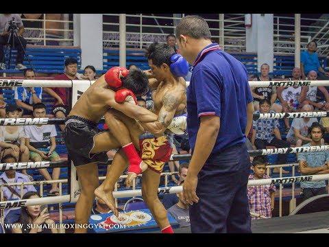 Jamesak Sumalee vs Kulabpetch Kiatsiripong: Bangla Boxing Stadium, 4th June 2017