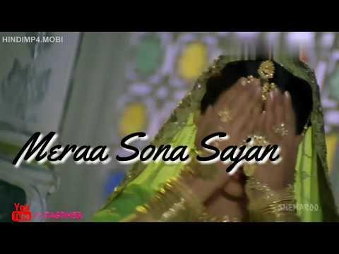 Mera Sona Sajan Ghar Aaya Mubarkan Mubarkan||Female Version|WhatsApp Status With Lyrics|By Jaspher