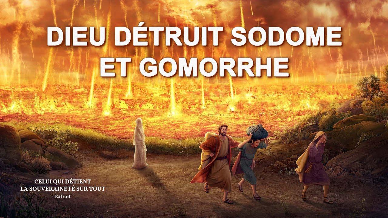« Celui qui détient la souveraineté sur tout » Dieu détruit Sodome et Gomorrhe
