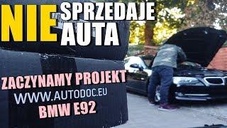 NIE SPRZEDAJE AUTA! BMW E92 PROJEKT Z AUTODOC // WYMIANA ŚWIEC CEWKI E92 // SWAGTV
