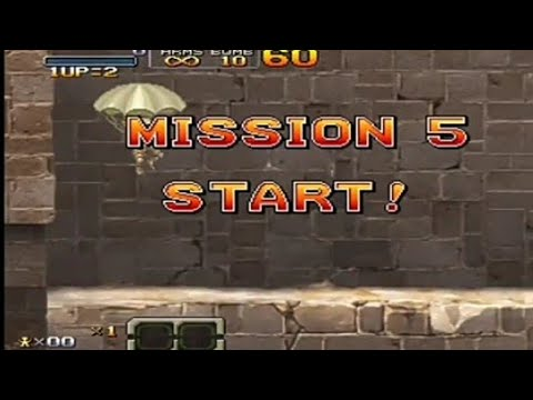 Metal Slug XX mission 5||Parkit Gamerz |