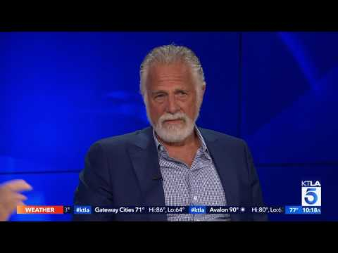 Jonathan Goldsmith aka The Most Interesting Man in the World Tells Us a Few Stories