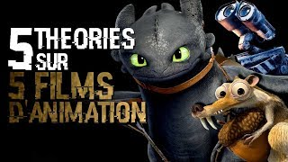 5 THÉORIES SUR DRAGONS, WALL-E, TOTORO, L'AGE DE GLACE & ANGRY BIRDS (#82)