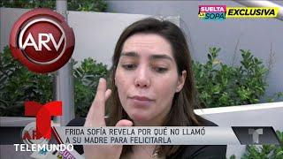 Frida Sofía revela por qué no habla con Alejandra Guzmán | Al Rojo Vivo | Telemundo