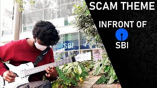 SCAM 1992 THEME GUITAR COVER | Streaming Now | HARSHAD MEHTA | ACHINT | SonyLIV |  GuitarWithAnand |