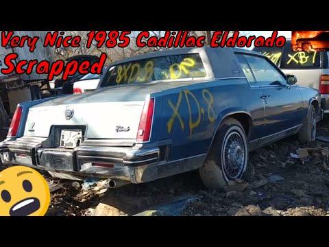 1985 Cadillac Eldorado Junkyard Find - YouTube
