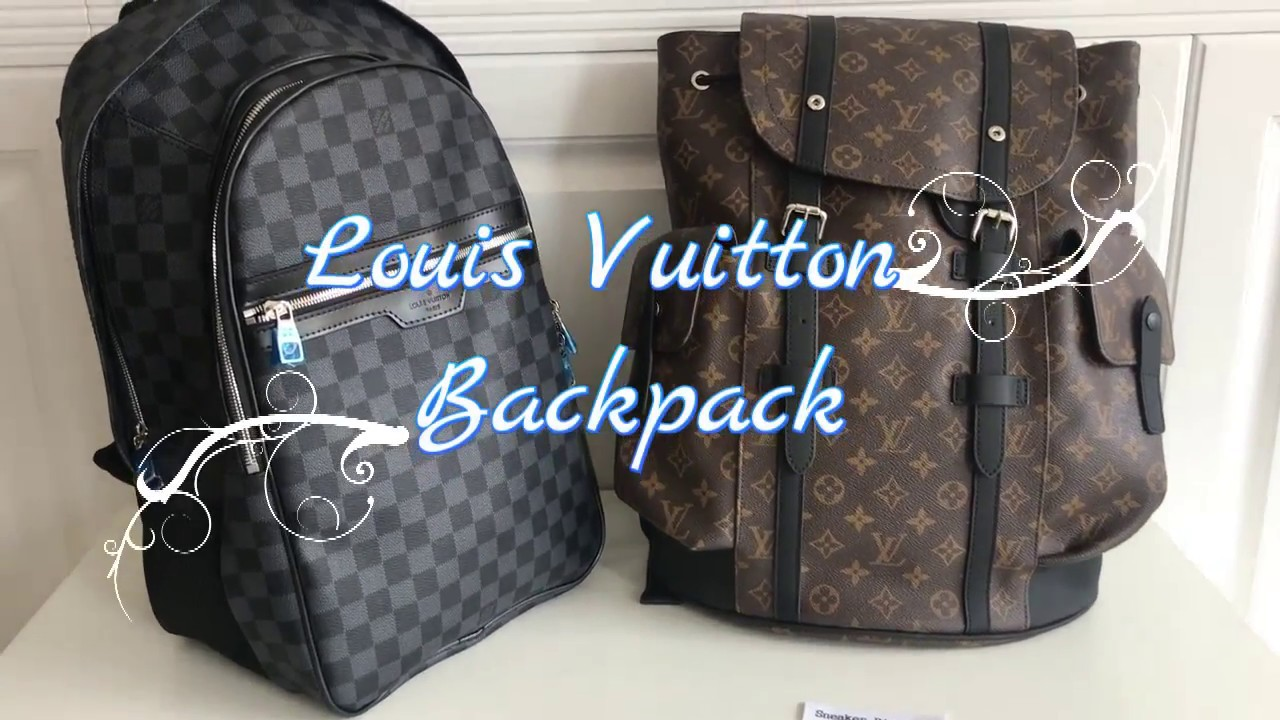 04e0f0690686c LOUIS VUITTON BACKPACK CHRISTOPHER PM MONOGRAM - YouTube