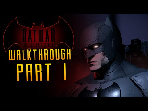 BATMAN: Telltale Series Walkthrough Part 1 Catwoman Beware (Episode One)