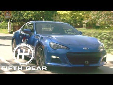 Fifth Gear: Subaru BRZ On Isle Of Man TT Course