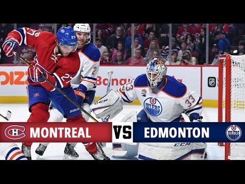 Montreal Canadiens vs Edmonton Oilers   Season Game 54   Highlights (5/2/17)