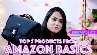 AMAZON BASICS | TOP 5 RECOMMENDATIONS