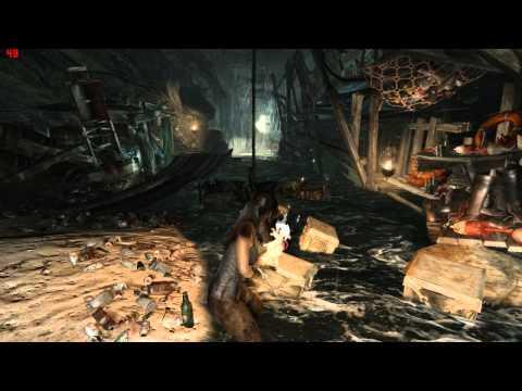 Tomb Raider GOTY with TressFX ON Gameplay on Radeon HD 7750 |